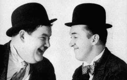 Laurel & Hardy on 9.5mm