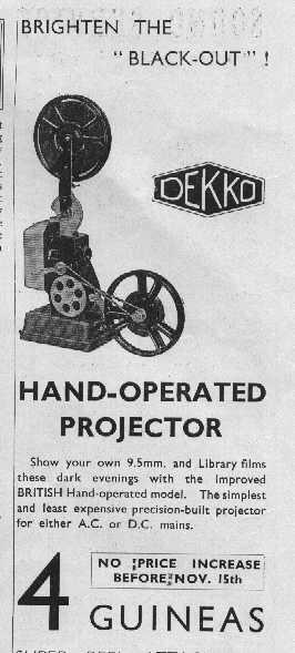List of vintage movie cameras, projectors etc  Part 2: manufacturers